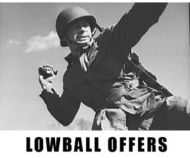 Low Ball Offer Meets Million-dollar Counter