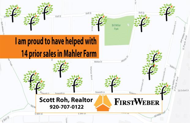 Mahler Farm Neenah 14 prior home sales